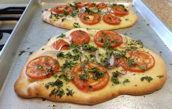 Rustic Tomato Flatbreads