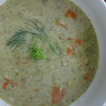 lemon rice soup