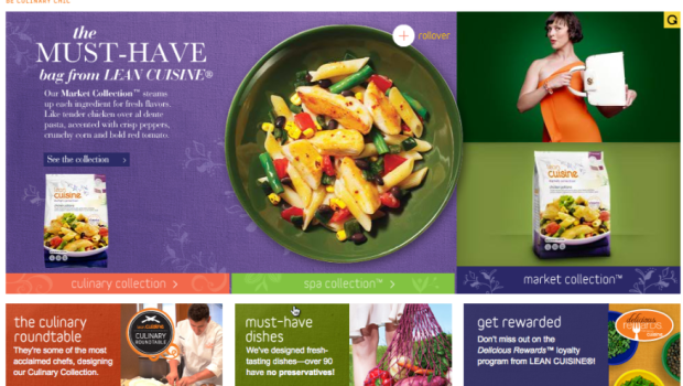the market collection from Lean Cuisine
