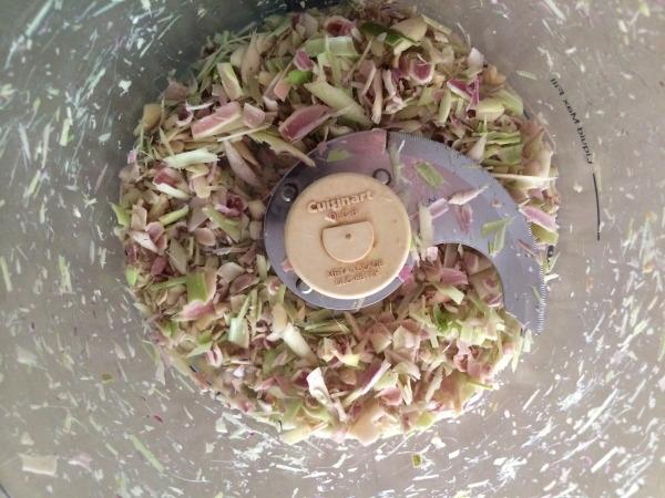 processed lemongrass