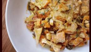Pumpkin and Cauliflower Gratin: A recipe for gut health