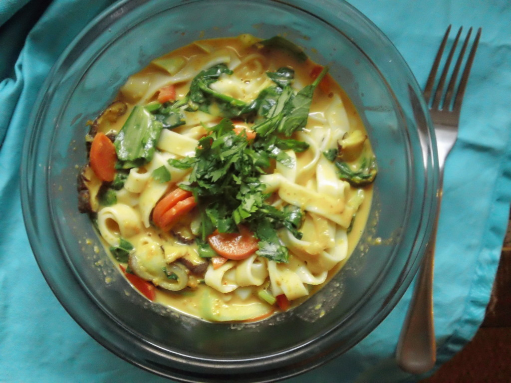 vegetable curry noodles