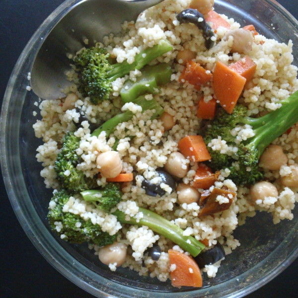 broccoli salad with couscous