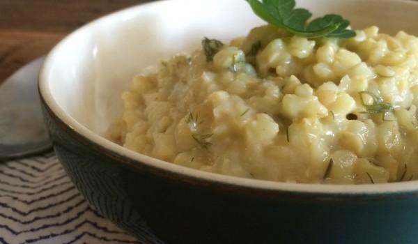 vegan cheesy rice