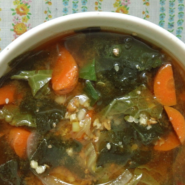 wakame soup miso soup