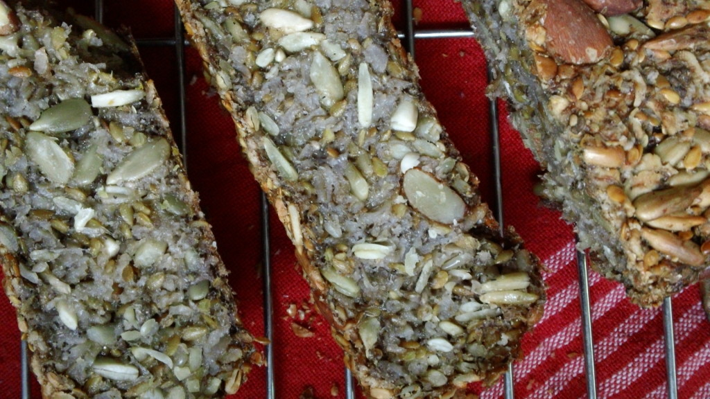 nut and seed bread gluten free