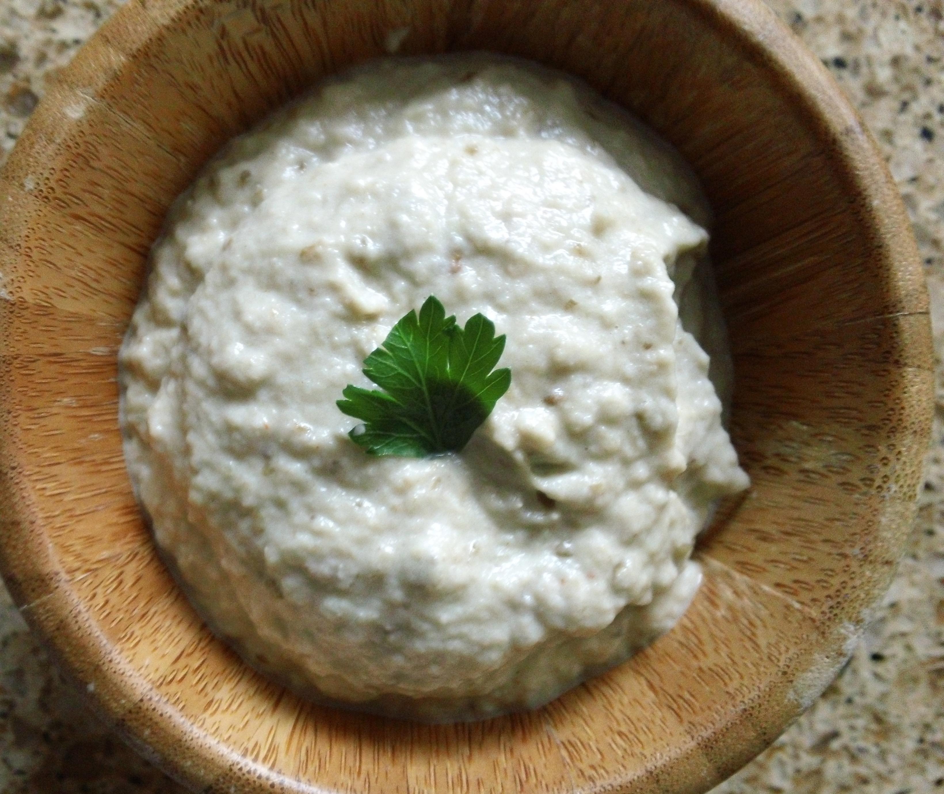 homemade baba gannoush