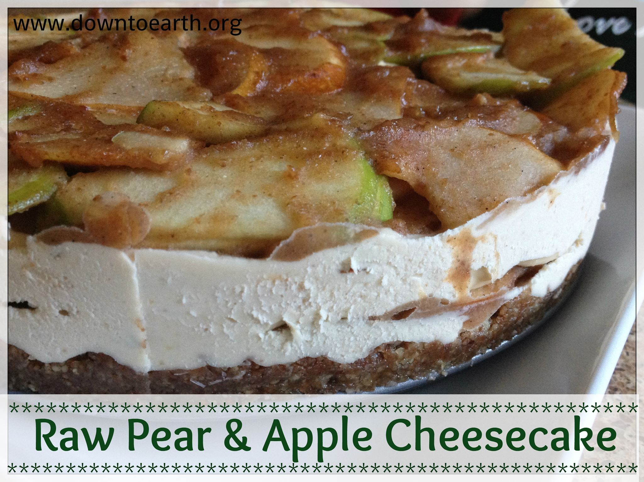 Raw food recipes caramel apple cheesecake vibrant wellness journal forumfinder Gallery