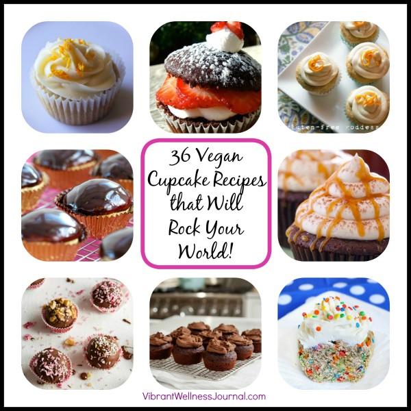 36 Vegan Cupcake Recipes that Will Rock Your World