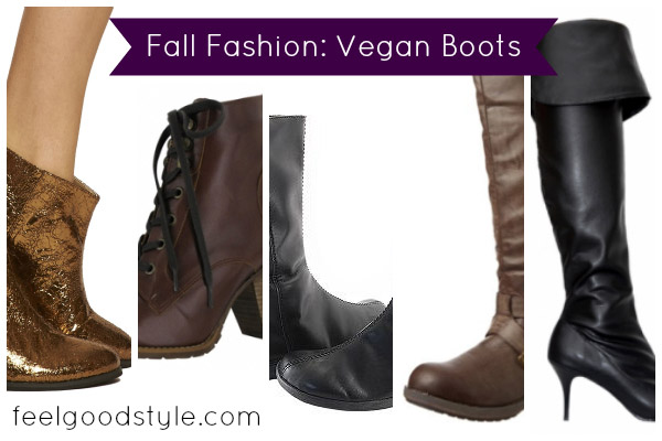 Fall Fashion with Compassion: Vegan Boots