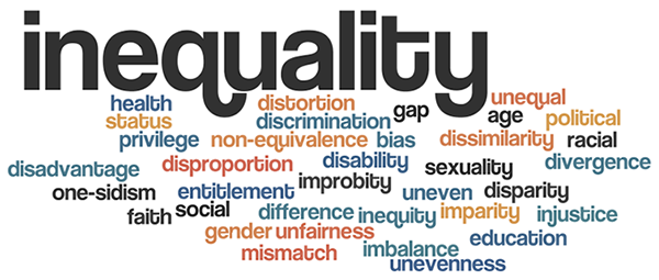 Blog Action Day: Inequality #BAD #blogactionday