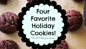 four favorite holiday cookies