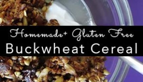 homemade buckwheat cereal