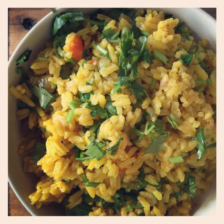 vegan curry rice recipe