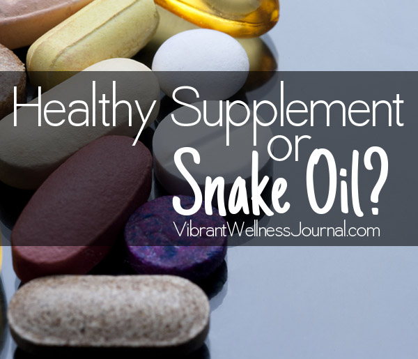 Supplements that Work (and ones that maybe don't)