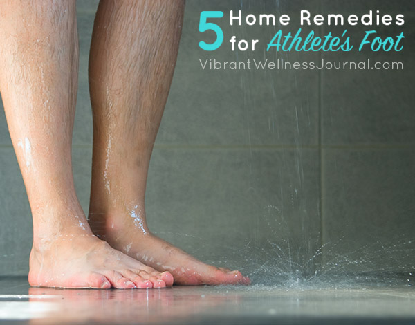 5 Home Remedies for Athlete's Foot