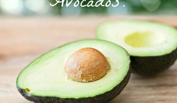 Good news everyone! Avocados lower bad cholesterol.