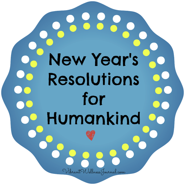 new year's resolutions humankind
