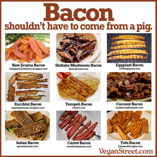 Plant-Based Bacon, 9 Ways