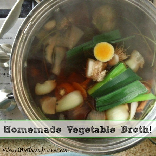 homemade vegetable broth 2