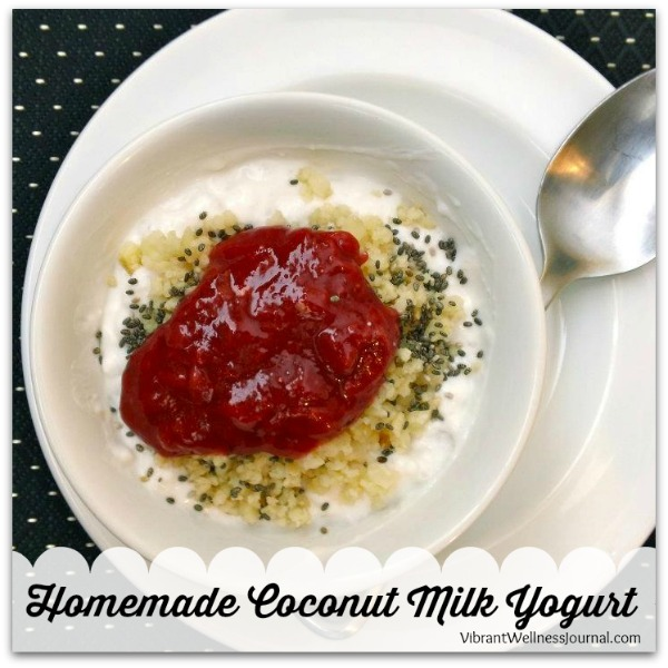 Homemade Coconut milk Yogurt 2