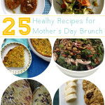 Celebrating a healthy Mother's Day is the best gift you can give your mama. Creating a brunch of homemade, healthy foods made with love for Mom shows that you love her enough to want her to stick around a few extra years! Here are 25 healthy Mother's Day brunch ideas to share this Mother's Day and anytime you want to show Mom you care.