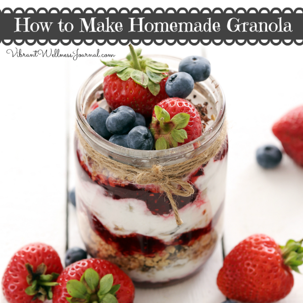 How to Make Homemade Granola - Years ago I started making my own granola, and it was a total life changing moment for me. Here's how to make homemade granola to suit your own tastes.