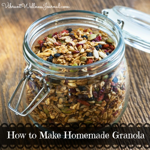 How to make homemade granola vegan gluten free ccuart Image collections