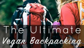 The Ultimate Guide to Vegan Backpacking - We love backpacking, and it's easy to eat vegan on the trail. Here are our favorite foods for vegan backpacking, including a 3-day meal plan.