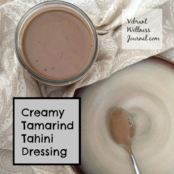 Creamy Tamarind Tahini Dressing