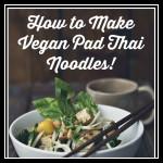 vegan pad thai noodle recipe