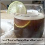 sweet tamarind soda