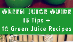 A few months ago my parents expressed interest in learning some green juice basics, and I was so happy to hear that they were interested in taking up this great wellness habit. I wrote a long email and then turned it into a blog post! Here are my 15 green juicing tips and 10 green juice recipes– for you and for my Mom and Dad!