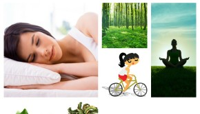 12 Natural Remedies for Anxiety collage