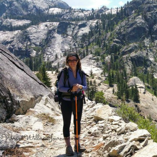 why nature time is important, andrea at yosemite