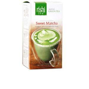 rishi sweet matcha tea