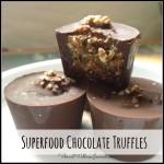 superfood chocolate truffles