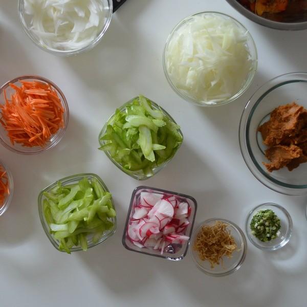 jin hirata cooking class_salad ingredients