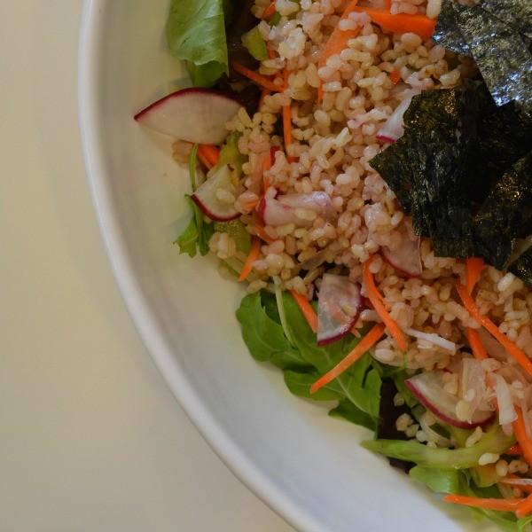 jin_hirata cooking class brown rice salad