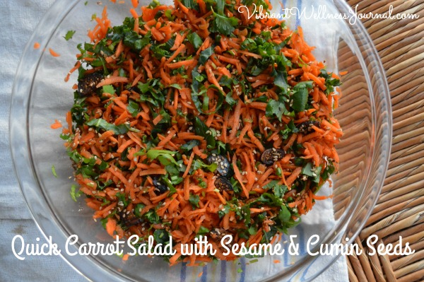 Quick Carrot Salad