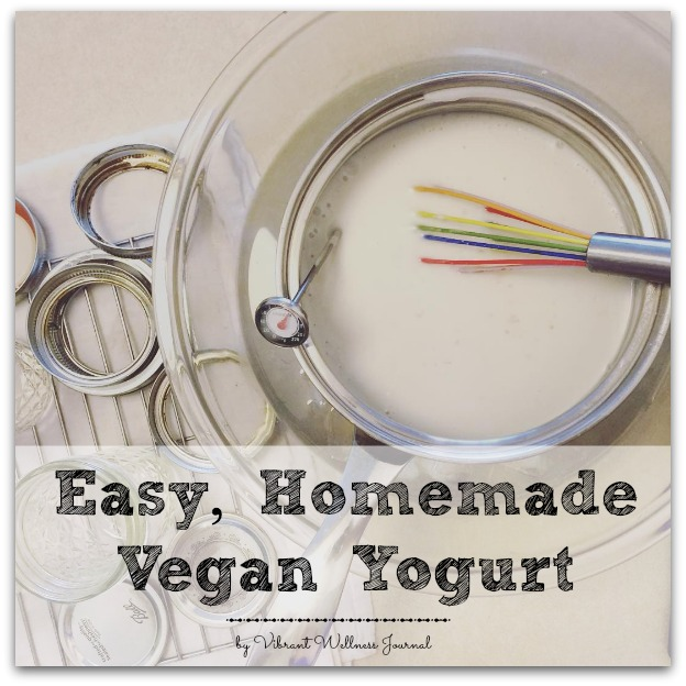 Easy, Homemade Vegan Yogurt