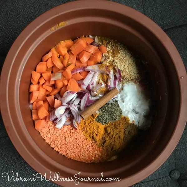 red lentil stew vita-clay