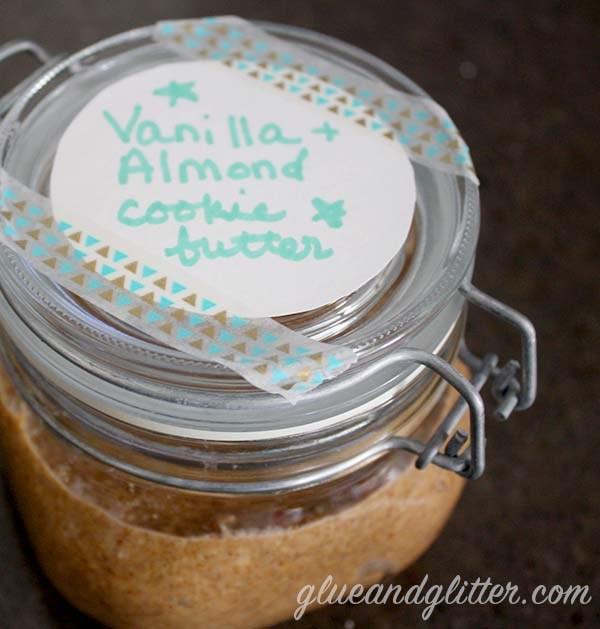 homemade vegan cookie butter