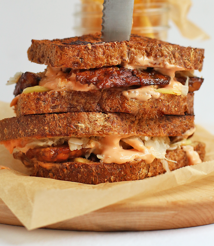 tempeh recipes tempeh rueben