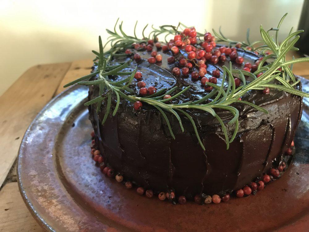 spicy chocolate cake vegan