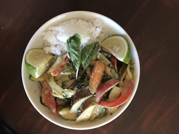 Thai Green Curry with Eggplant final